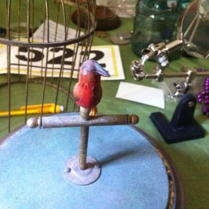 Be sure to follow The Songbird Project, where our horologist restores (and might add a smidgeon of Steampunk) to an antique singing birdcage.