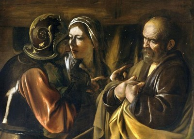 The Denial of Peter by Caravaggio